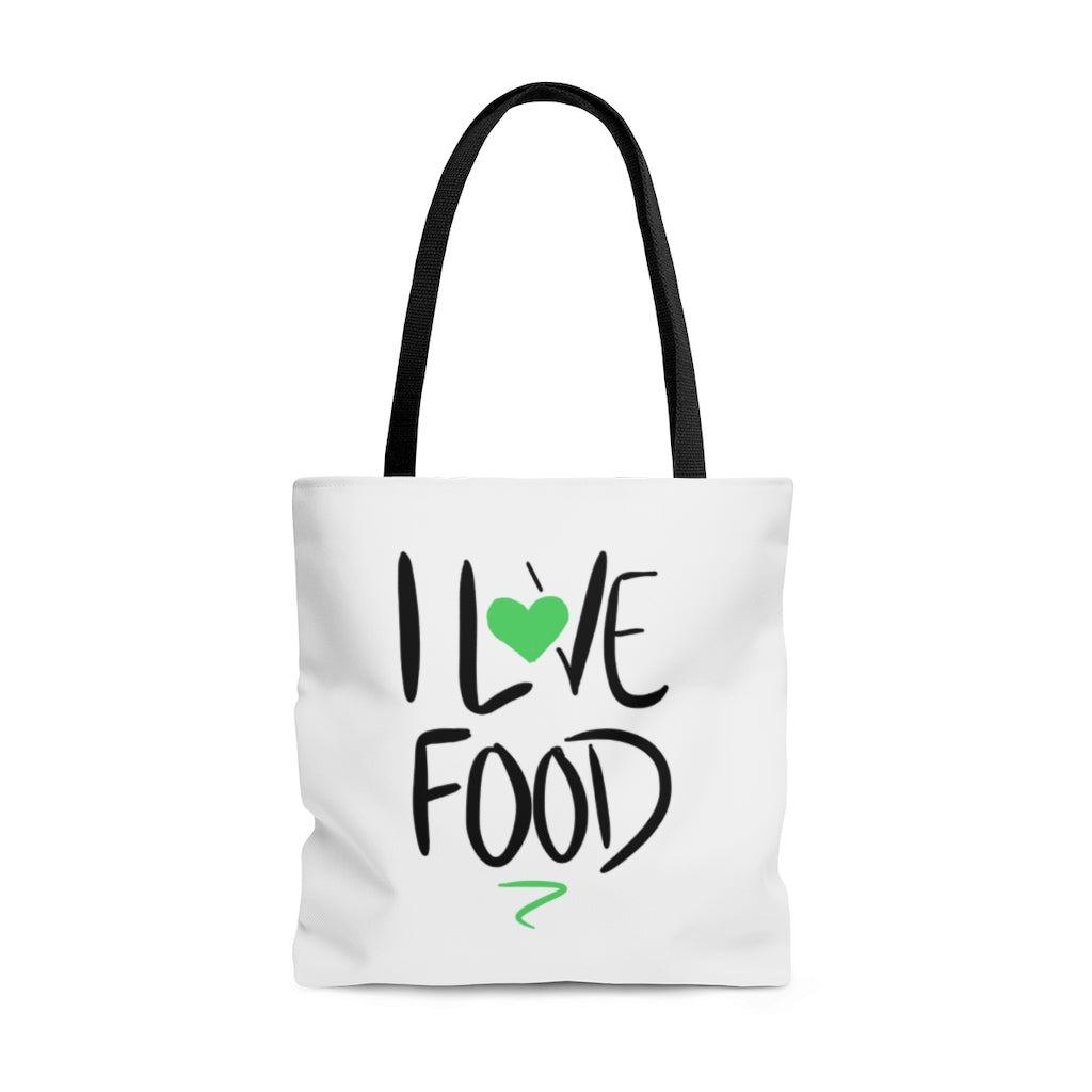 I Love Food Tote