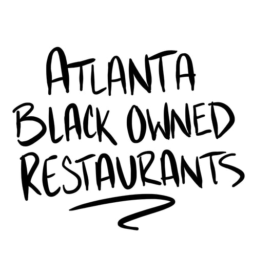 Atlanta Black Owned Restaurant List PDF