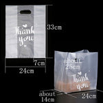 50pcs Transparent Thank You Plastic Candy Cookie Gift Bag