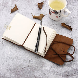 Handmade Vintage Leather Bound Writing Notebook