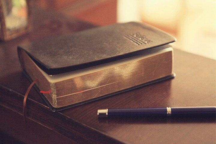 Vintage Leather Notepad or Journal