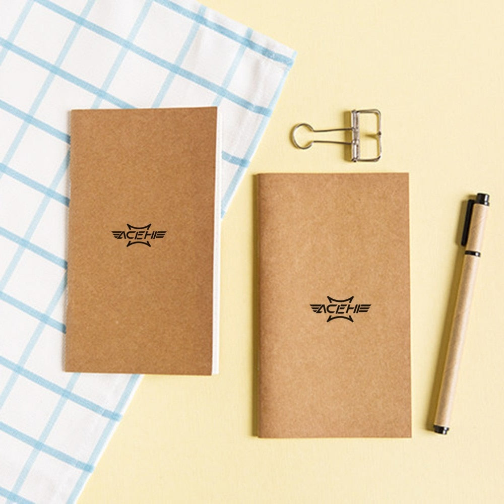 ACEHE Standard Kraft Paper Notebook Diary Journal
