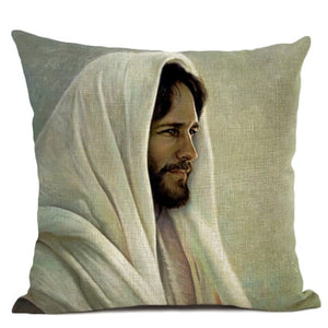 Beautiful Paintings of Jesus on Pillow Covers