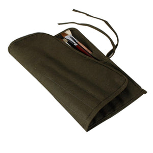 Artists Brush Canvas Storage Bag