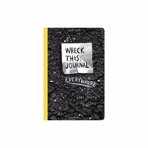 Wreck This Journal Everywhere By Keri Smith 144 pages