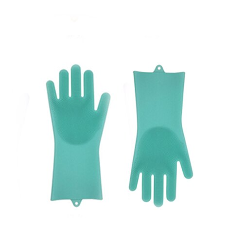 Silicone Dish Washing & Cleaning Gloves