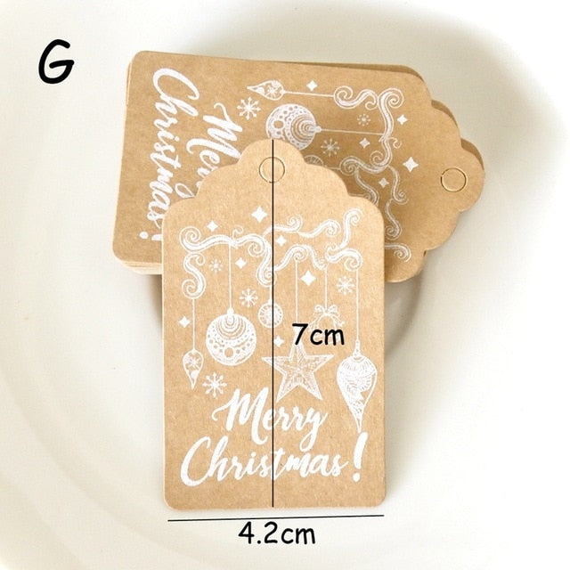20Pcs Special Occasion, Thank you Kraft Paper Tag Labels
