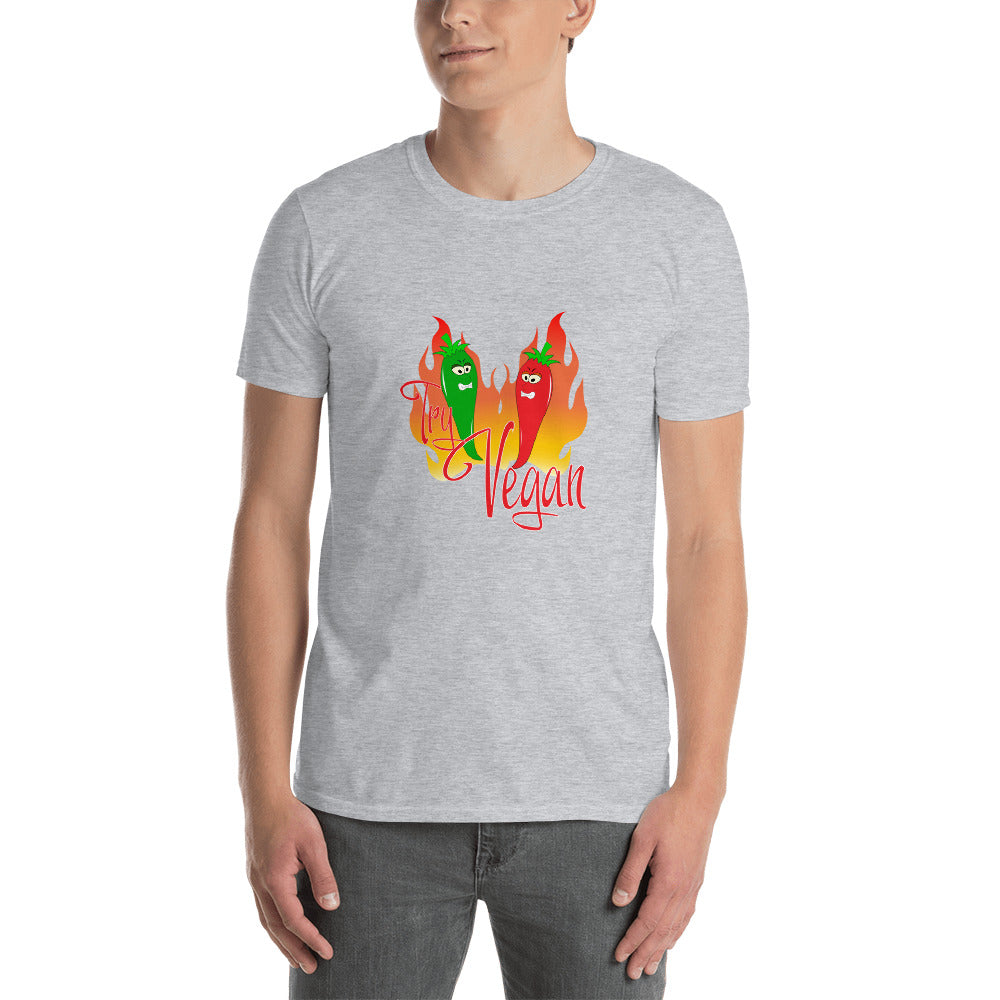 Pepperoni Try Vegan Veganer TShirt