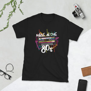 80s Cassette Retro Shirt Born in the 80s