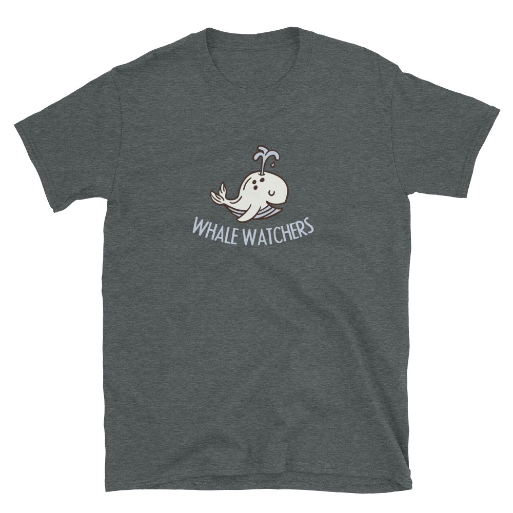Whale Watcherys Kurzärmeliges Unisex-T-Shirt