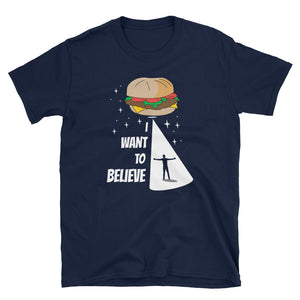Burger I Want to Believe