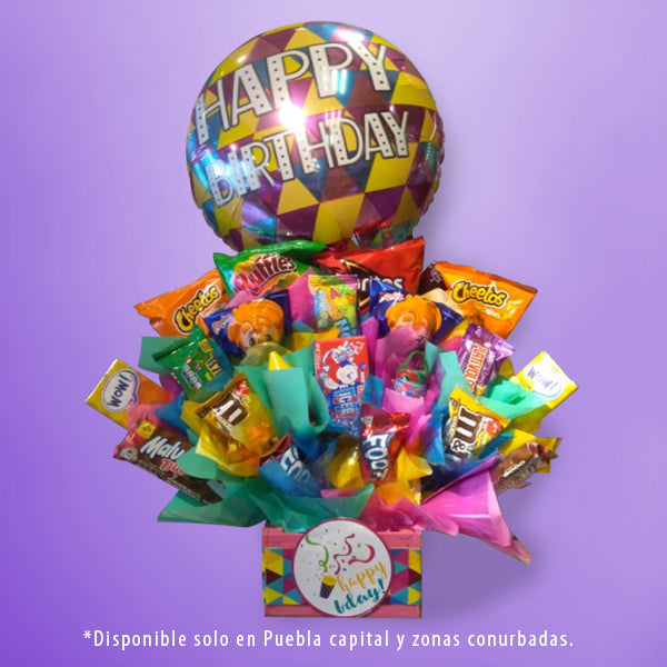 DECORACIÓN DULCES HAPPY BIRTHDAY