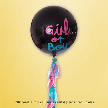 GLOBOS GIGANTE GENDER REVEAL