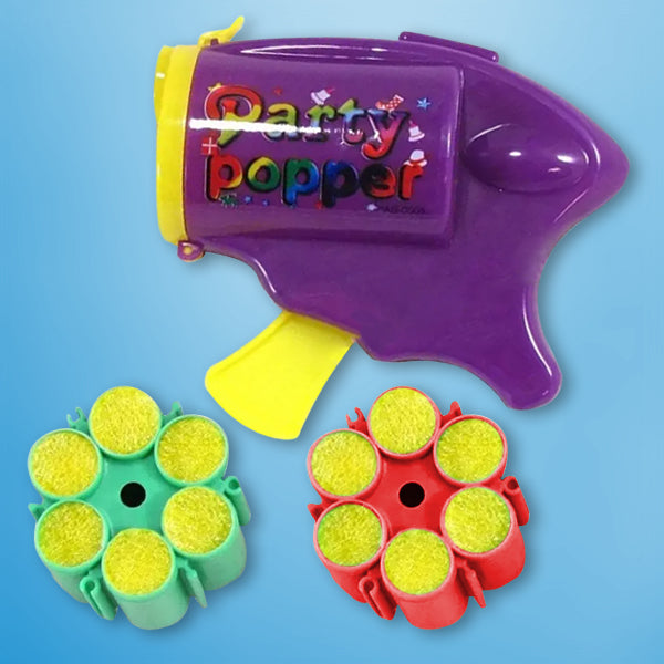 PISTOLA DE CONFETTI PARTY POPPER