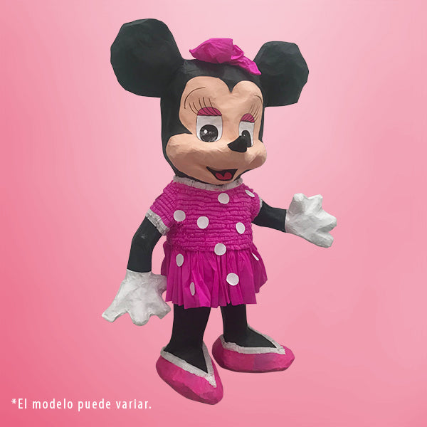 PIÑATA MINNIE ROSA