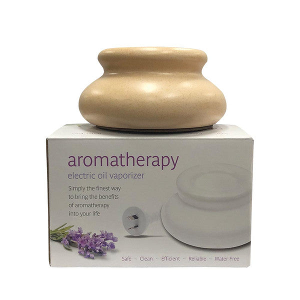 Aromamatic Vapouriser Electric Sandstone (Essential Oils)