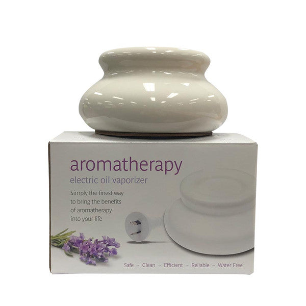 Aromamatic Vapouriser Electric White (Essential Oils)