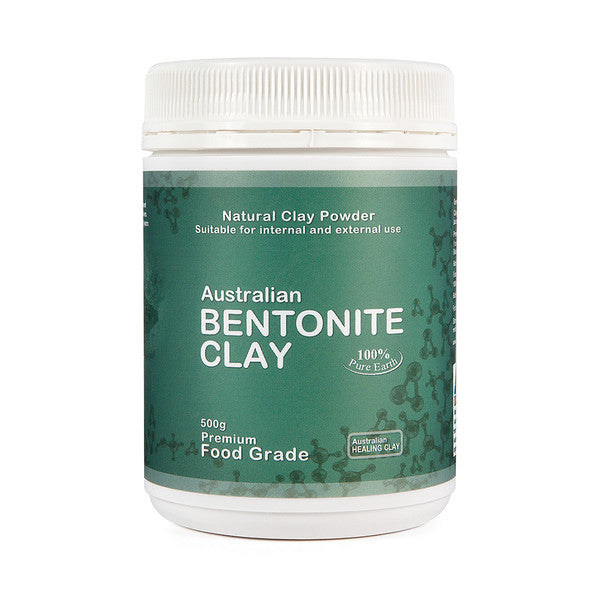 Australian Healing Clay Bentonite Clay Powder 500g