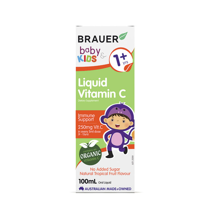 Brauer Baby & Kids Liquid Vitamin C (1+ years) 100ml
