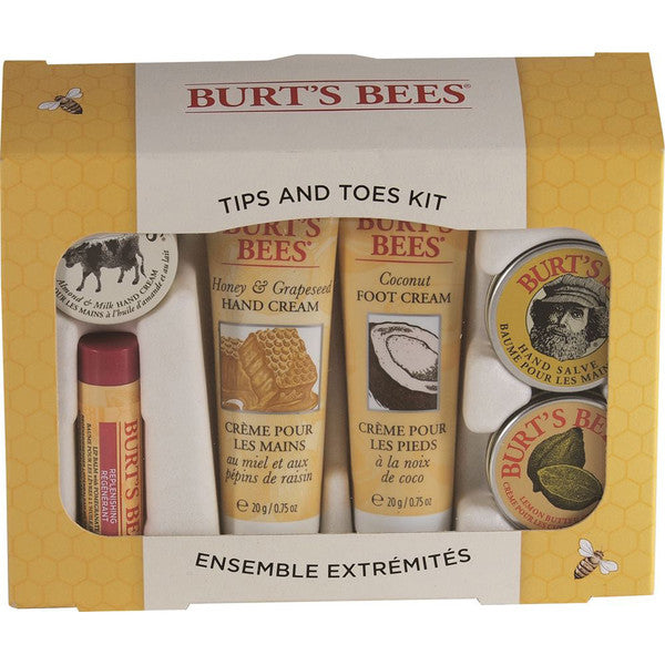 Burts Bees Tips and Toes Kit