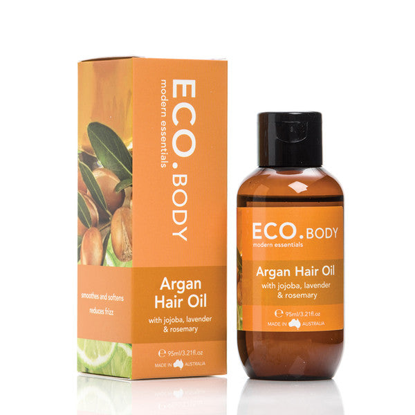 Eco Modern Essentials Hair Oil Argan (with Jojoba, Lavender & Rosemary) 95ml