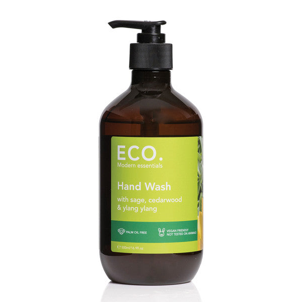 Eco Modern Essentials Hand Wash with Sage, Cedarwood & Ylang Ylang 500ml