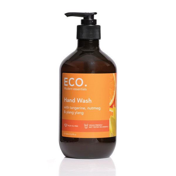 Eco Modern Essentials Hand Wash with Tangerine, Nutmeg & Ylang Ylang 500ml