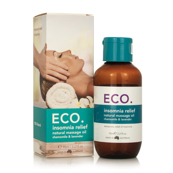 Eco Modern Essentials Massage Oil Insomnia Relief (Chamomile & Lavender) 95ml