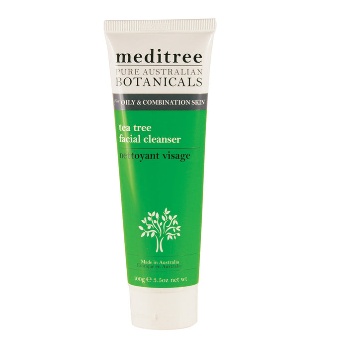 Meditree Oily & Combination Skin Tea Tree Facial Cleanser 100g