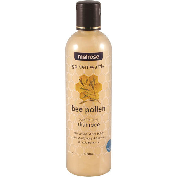 Melrose Golden Wattle Bee Pollen Shampoo 300ml