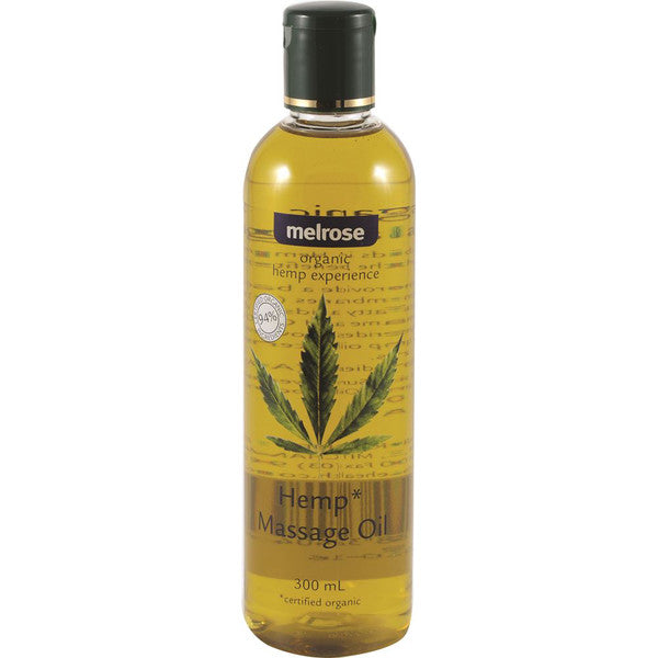 Melrose Hemp Experience Organic Hemp Massage Oil 300ml