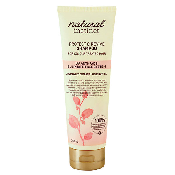 Natural Instinct Shampoo Protect & Revive for Colour Treated Hair 250ml