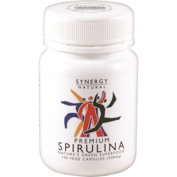 Synergy Natural Premium Spirulina 500mg 100c