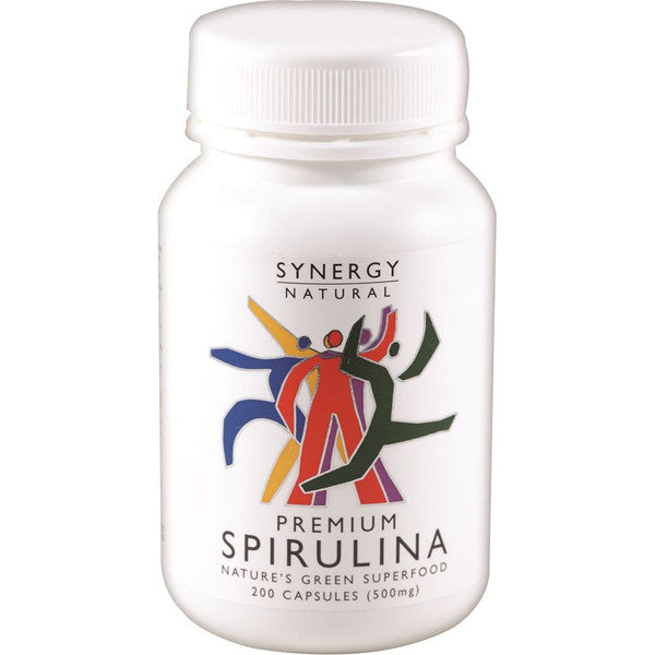 Synergy Natural Premium Spirulina 500mg 200c