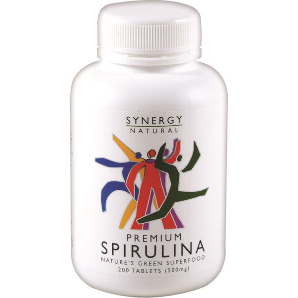Synergy Natural Premium Spirulina 500mg 200t