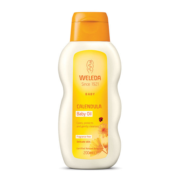 Weleda Baby Calendula Oil Fragrance Free 200ml