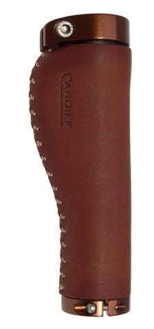 Balmoral Brown Leather Grips