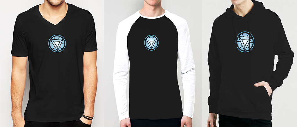 Buy Online Iron Man Arc Reactor Tees, Hoodies, Long Sleeves & Raglans At Best Price On Osom.Clothing. Online Shopping At Best Price In India. Get FREE Shipping & COD.