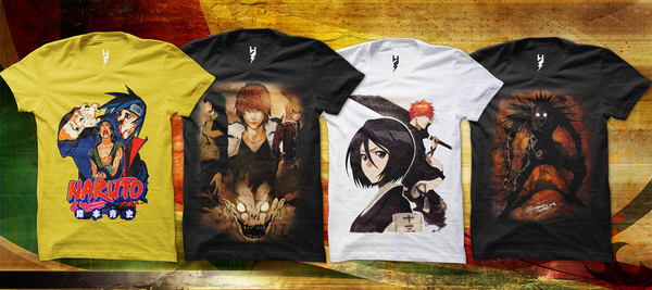 Get Anime Designs On Front Of T Shirts Are Dedicated To Anime Lovers Catch On Osomwear.Com Anime Boom Increased Popularity Of Anime Free Shipping At Your Door Steps