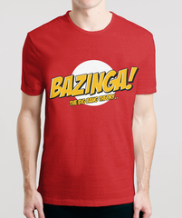 Bazinga - Sheldon's T-Shirts From The Big Bang Theory in India, also available online to buy for Men & Women in Hoodies, Raglans & Long Sleeves