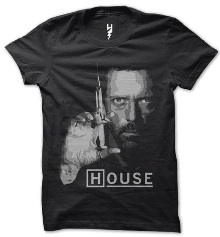 House MD NBC TV Show T Shirt for mens in india , only at the best shopping store online,The largest selection of TV show T Shirts under one roof, exclusively