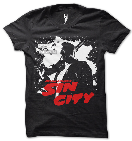 Buy Exclusive Sin city T shirts Online India