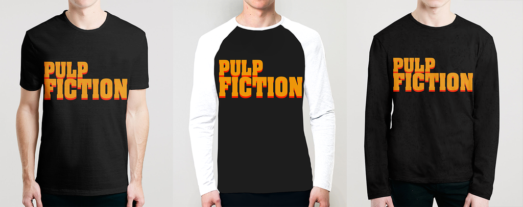 Buy vintage Pulp Fiction T-shirts  Hoodies, Long Sleeves And Raglans Designs Online accessible at  OSOMWEAR in India Online now. Get it on www.osomwear.com
