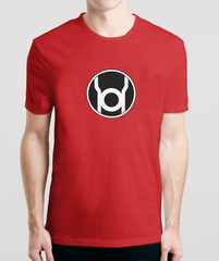 RED LANTERN - Sheldon's T-Shirts From The Big Bang Theory in India, also available online to buy for Men & Women in Hoodies, Raglans & Long Sleeves