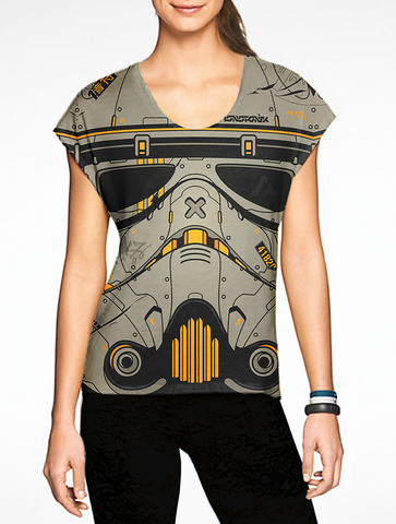 Sand Trooper Girls T-Shirt / Star Wars OSOMWear Women's Movies Tees The Best Movies Online Clothing Store. Sand Storm Trooper Star Wars Shop Now! Buy Woen's Tank Tops, T shirts and Tees Online in India.