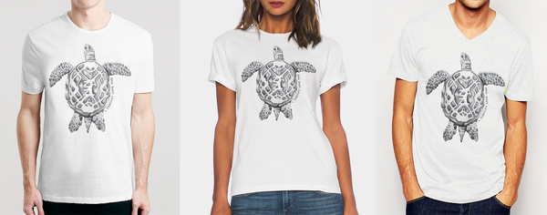 Isn't That Just The Cutest Thing Ever !!! Find Unique Design For Turtle Lovers T- Shirts In India All International Fit & Style Osom T- Shirts On www.osomwear.com