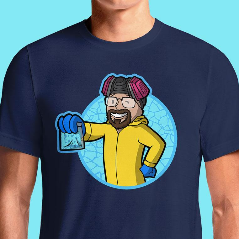 Breaking Bad T-Shirt India T Shirt Heisenberg TEESO Buy Online In Merchandise Fallout Guy #breakingbad #heisenberg #walterwhite #fallout #gamer T Shirts For Mens Custom Printing Sport Ladies Online Tshirts White Women Black Branded Designer Polo Printed Superman Gents Sleeveless Long Best Plain Stylish Quotes Women's Buy Family Man Shopping Personalised V Neck Wholesale Cool Full Design Tops India Cotton