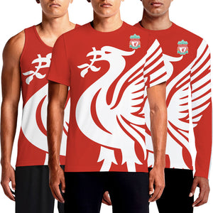 Custom Graphic Design Liverpool Full Sleeve Shirt For Sale Shopping White Crest Football Liverpool Fans Printed Jersey Logo Latest New Men's Round Neck T Shirts OSOM Liverpool Jersey Kit 2017/18 Shop Anfield