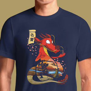 Disney Men's and Womens Mulan Mushu Honor T-Shirt | OSOMWEAR https://osomwear.in/products/honor The OSOMWEAR Disney Mulan T-Shirt is a shirt worth fighting for! The iconic Disney movie, Mulan, comes to life on these fun Mulan designs for ...