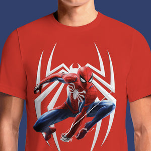 Marvel's Spider-Man PS4 2018 T-Shirt | OSOMWEAR https://osomwear.in/products/be-spider-man-ps4-comics-tv-movies-t-shirts-india Let's say that you're an ultimate fan of Spider-Man and you've been going all out to find all the collectibles surrounding the game. And, yes, that ...
